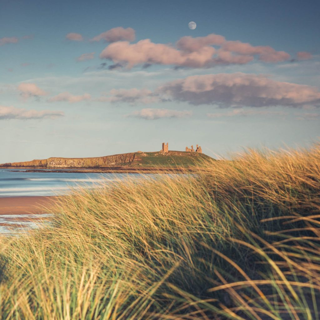 June - Dunstanburgh Castle